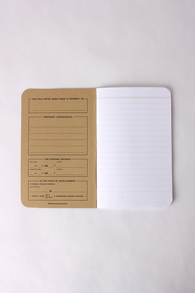 FIELD NOTES - 3 PACK MIXED PAPER