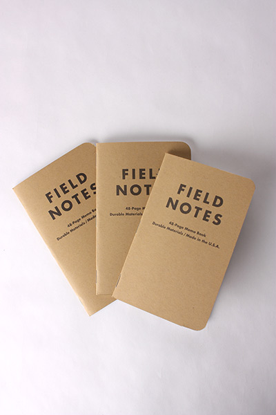 FIELD NOTES - 3 PACK RULED PAPER