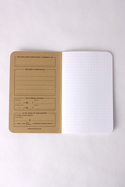 FIELD NOTES - 3 PACK GRAPH PAPER