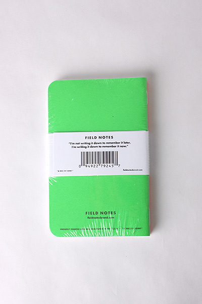 FIELD NOTES - 3 PACK NEON ICE POPS LIMITED EDITION