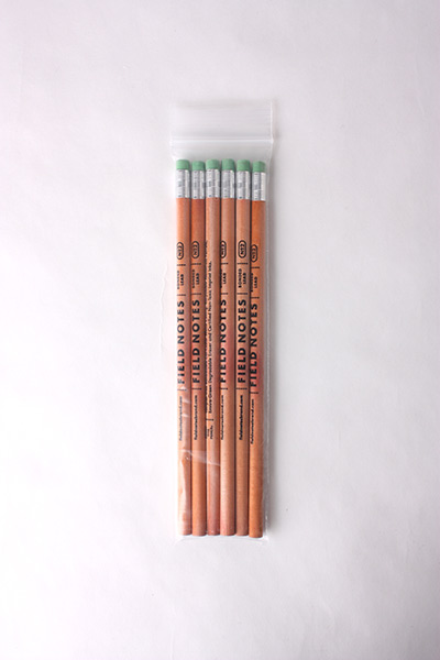 FIELD NOTES - 6 PACK WOOD GRAIN PENCILS