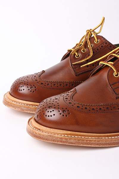 TRICKER'S FOR SCOUT - LADIES BEECHNUT BURNISHED DERBY BROGUE