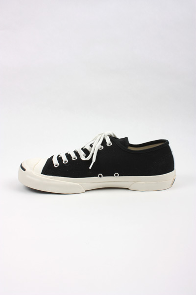 CDG PLAY X CONVERSE JACK PURCELL BLACK