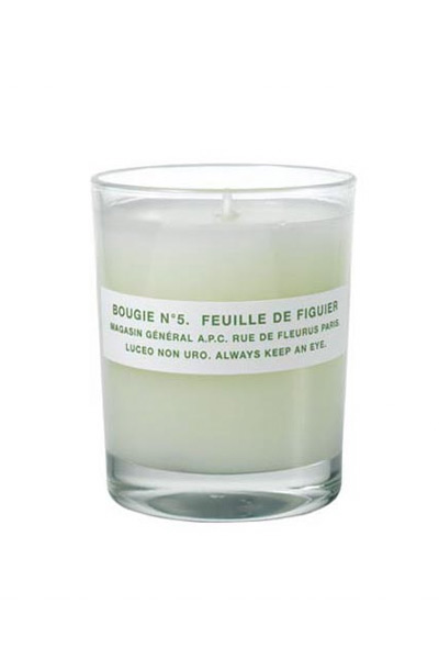 A.P.C. - SCENTED CANDLE N 5
