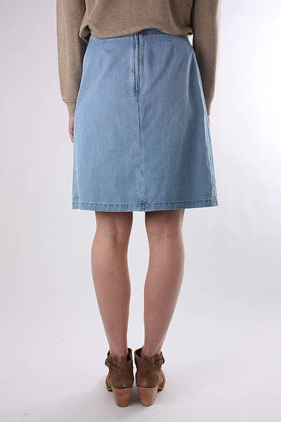A.P.C. - BELTED DENIM SKIRT