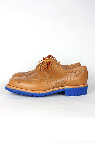 MARK MCNAIRY - COUNTRY BROGUE W/ BLUE COMMANDO SOLE