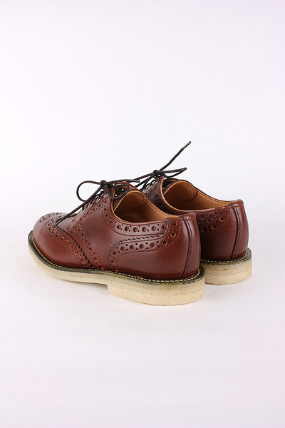 MARK MCNAIRY - LADIES TAN WAX COUNTRY BROGUE
